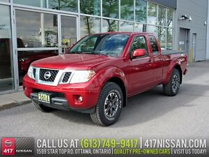 2014 Nissan Frontier PRO-4X King Cab | Rear Cam, Heated Seats