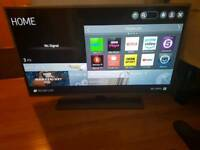 LG fully smart tv 42 inches LED