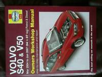 Haynes manual for Volvo v50