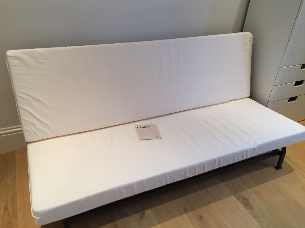 Ikea Exarby Three Seat Sofa Bed With Mattress Protector
