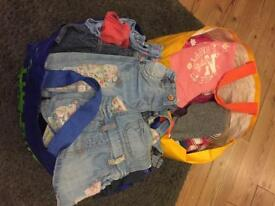 Girls clothes bundles newborn ,0-3 3-6 6-9 9-12 12-18 18-24