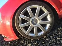 "Genuine 18 "" Rs4 Alloys et43"