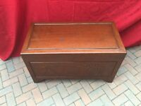 Camphor Wood Chest - With Full Length Tray and Key
