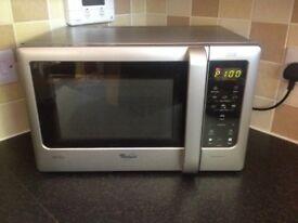 Whirlpool MWD207/SL Compact 700w Microwave