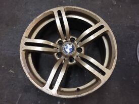 "BMW M6 Replica Single Wheels. No Cracks or Buckles. 5x120 PCD 8.5x18"" ET37"