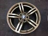 "BMW M6 Replica Single Wheels. No Cracks or Buckles. 5x120 PCD 8.5x18"" ET37"