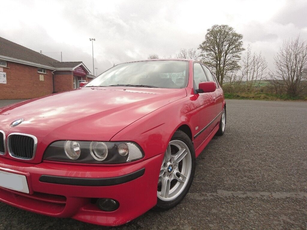 BMW 530d M-Sport 2003 - ##PRICE DROP## Imola Red, Manual Gearbox, Low Mileage Example!