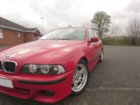 BMW 530d M-Sport 2003 - Imola Red, Manual Gearbox, Low Mileage Example!