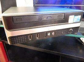 RM EXPERT 3040 MINI PC/300GB HD/4GB RAM/DUAL CORE 3GHZ X2/MEDIA DESKTOP PC/SILENT