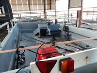 For sale good boat for sea fishing every thing works fine 1600
