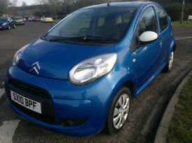 CITROEN C1 SPLASH 5 DOOR 2010 ONLY 60,000 MILES
