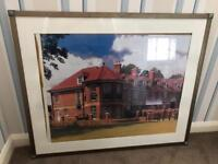 BARGAIN !! - Large metal picture frame with glass