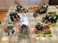 Lego power miners job lot of 7 sets
