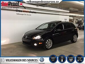 2013 Volkswagen Golf Wolfsburg,FULLY LOADED!*RARE*
