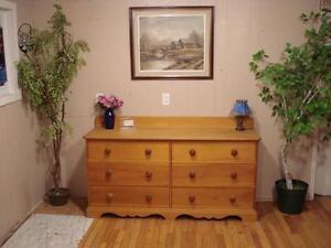 Solid Rustic Pine Dresser