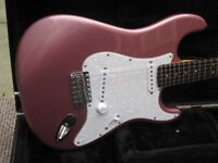 FS/FT WARMOTH ASH STRATOCASTER BRAZ SCALLOPED NECK VGC (optional Fender pro case)LE27QT
