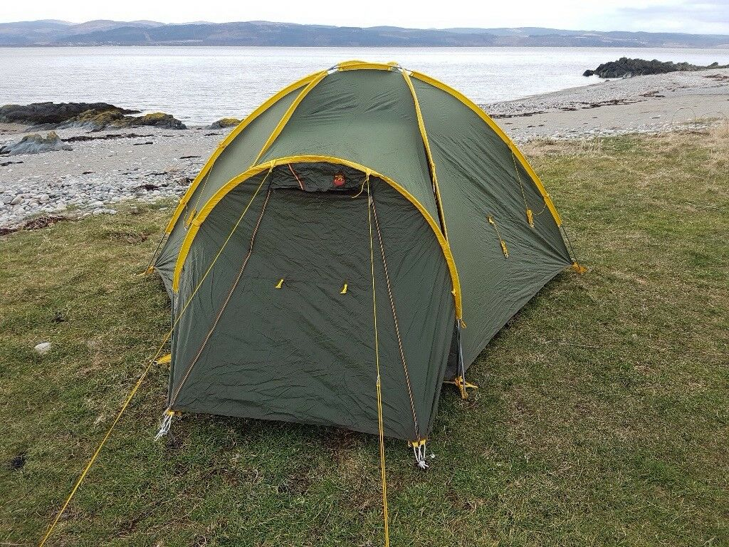 Phoenix Phor 3 mountaineering tent: perfect tent for the serious camper.