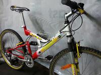 Full Suspension Adults Mens / Womans Bike Size Medium