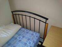 3/4 size bed frame + free mattress