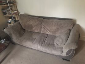3 seater sofa for FREE Knebworth