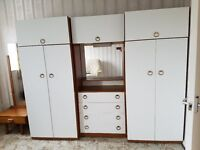 Unit of wardrobes and drawers