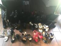 Job lot of a variety ladies shoes size5/6