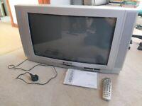 Old Style Large Bush TV WS6674