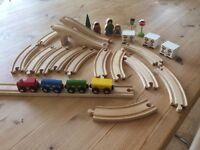 Brio track and train