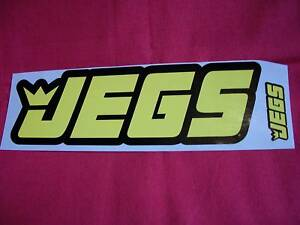 Jegs Racing & Performance Parts Stickers Decals