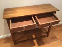 Sideboard style table