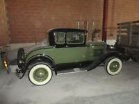 """**** Restored 1931 Ford Model """"A"""" w/ Rumble Seat ****"""