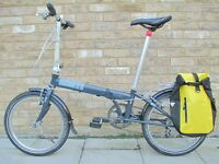 Dahon Speed Folding Bike (Plus Bag & Extras)In Excellent Condition