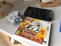 BOXED Nintendo 3DS XL Pokemon sun and moon edition