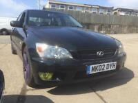 Lexus is200 only 62000 miles one off paint work