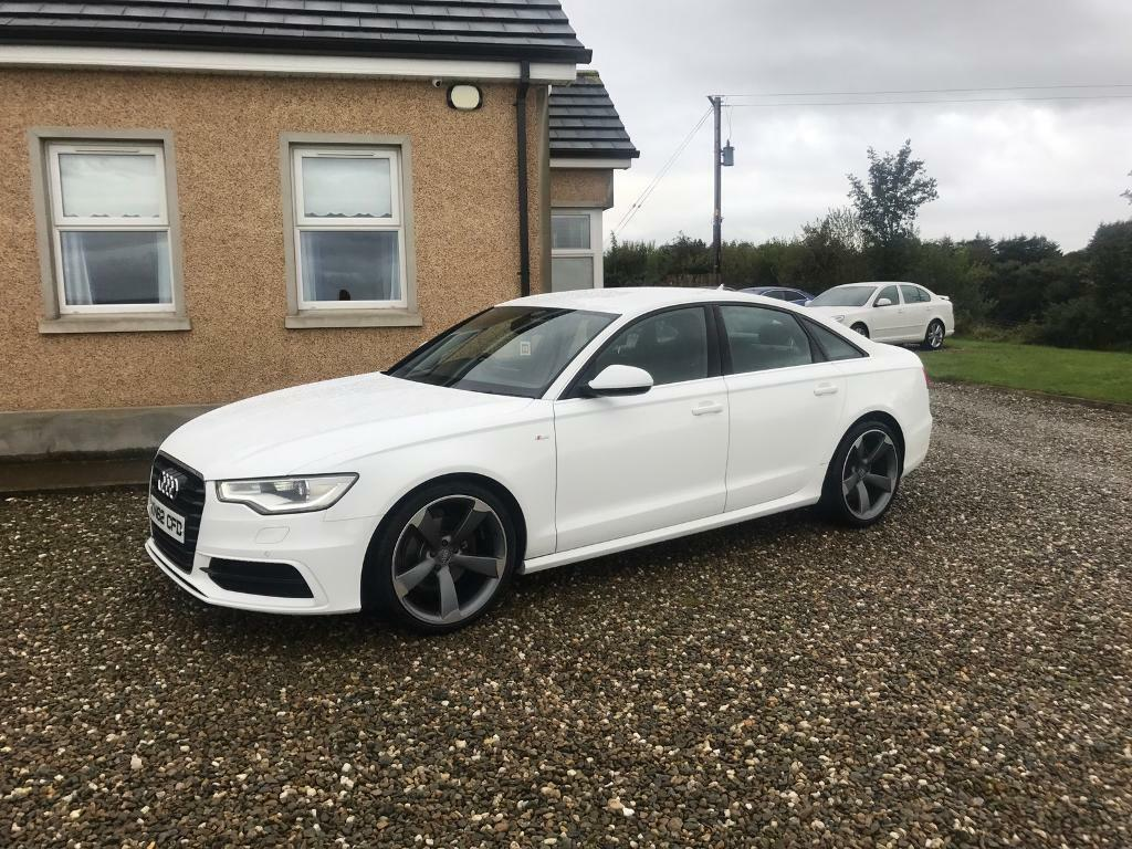audi a6 s line white 80k miles in limavady county. Black Bedroom Furniture Sets. Home Design Ideas