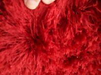 Red mat/rug