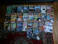 Collection of Linux Format magazines