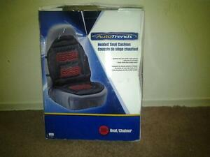 Auto trends heated seat cushion