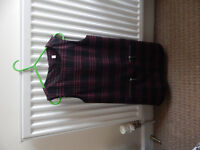 Girls M&S winter weight dress and cords, size 5-6