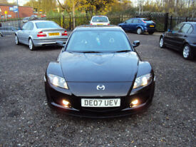MAZDA RX-8 192 BHP 4 DOOR COUPE 2007 1 OWNER FROM NEW VERY LOW MILEAGE SERVICE HISTORY LONGMOT EXTRA