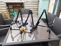 4 guitar stands for sale! can sell individually or as a job lot for a deal