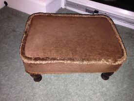 Vintage Sherborne foot stool
