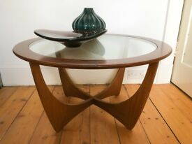 Mid-Century British Teak Astro Coffee Table by Victor Wilkins for G-Plan