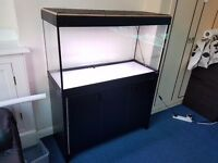 FISH TANK FLUVAL ROMA 200 WITH CABINET