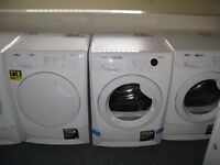 TUMBLE DRYERS CONDENSER AND VENTED WITH WARRANTY