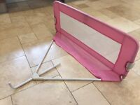 Pink Tomy Bed Guard