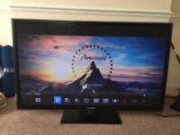 Samsung PS59D6900 59-inch Full HD 1080p 3D Plasma TV with Freeview HD with 4x 3d glasses and stand