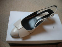 Marc Jacobs off-white slingback shoes £49 - never worn size 3 (36.5)