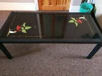 2 * decorative dining tables
