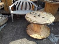 CABLE DRUMS VARIOUS SIZES ALL IN GOOD CONDITION CAN DELIVER LOCALLY FOR AN ADDITIONAL FEE